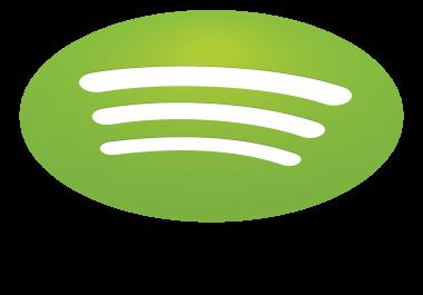 50,000 Spotify Plays
