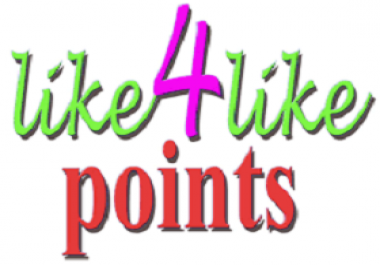 Like4like account 3000 points