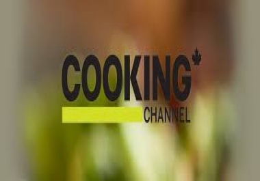 Youtube Banner for Cooking Channel
