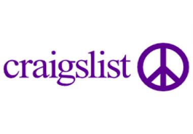 CraigList Post for USA States/City on Medicale Niche