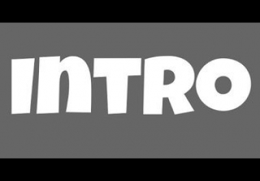 Video Intro & Outro.