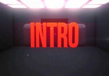 INTRO & OUTRO - NO TEMPLATES - Unique,  Real & innovative