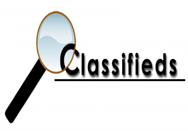 Looking for a Classified Ad Posting Expert
