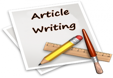 I need an article writter for my WordPress blog