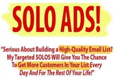 Need a good Solo Ad provider
