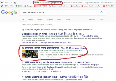 Want Show My vIdeo on Google co. in First Page