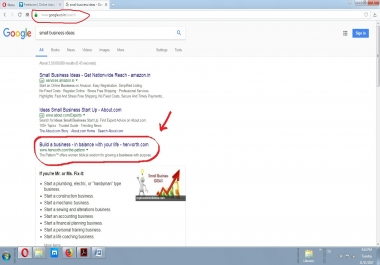 Need Seo Expert Want Google. co. in First Page Result Under 1 Month