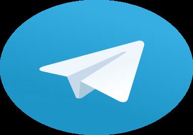 1,000 Real Telegram Channel Members