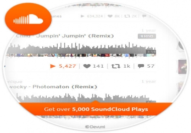 Sound Cloud Promo - Plays,  Likes,  Comments,  Reposts