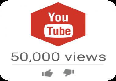 50,000 High Quality YTB Views