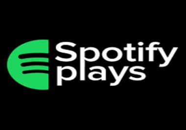 Need 1000 Spotify plays Budget 2