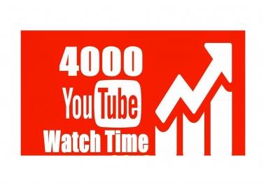 Need 4,000 hours watch