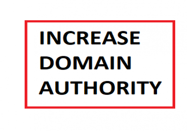 Increase domain authority DA to 40+