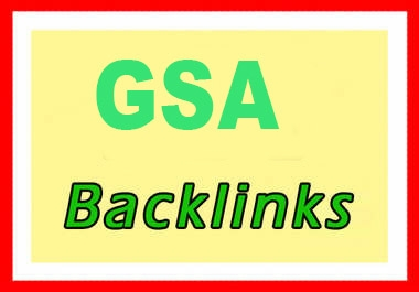 GSA Backlinks for tire 2