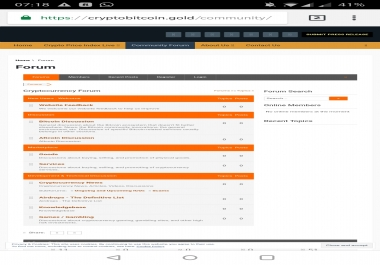 Forum Posting cryptobitcoin. gold
