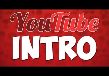 Create 5 Amazing Animated Logo Intro Video