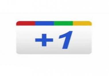 need 500 PERMANENT Google +1s