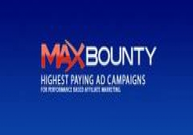 MaxBounty Account
