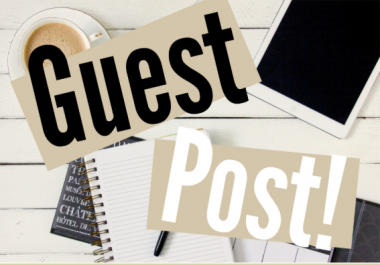 I need guest posting links