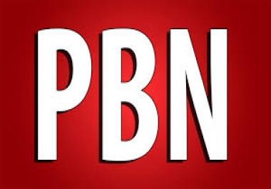 we need 30 domain pbn