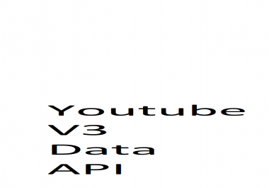 Need unlimited Youtube Data Api V3