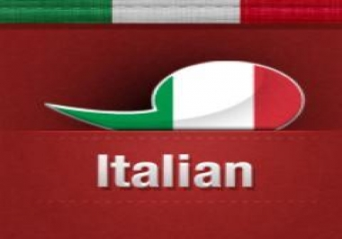 I want 1200 Italian twitter followers