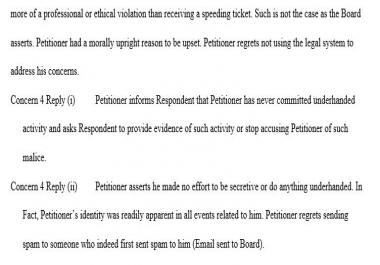 Legal Document Fiormatting