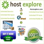 Unlimited Web hosting with cPanel,  Softaculous,  Attracta