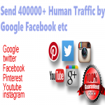 400000+ organic human traffic from google