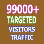 99000 Keyword Targeted Visitors Traffic to Website