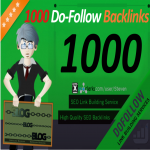 Create 1000 Do-Follow Backlinks for any blog,  website or video including DoFollow Link Juice