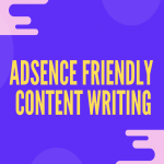 Adsence friendly 500 words article and blog post writing service