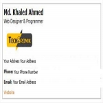 Give You Awesome Email Signature With Responsive