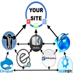 150 Social Network Backlinks from Elgg,  Jcow,  PhpFox,  PhpDolphin,  Drupal,  PhpMotion,  + SocialEngine